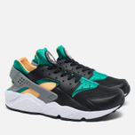 Мужские кроссовки Nike Air Huarache Black/Green/Yellow/White фото- 1