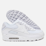 Мужские кроссовки Nike Air Max 90 Essential Triple White фото- 2