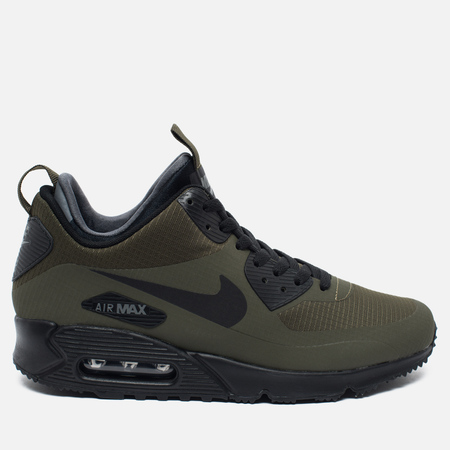 Мужские зимние кроссовки Nike Air Max 90 Mid Winter Dark Loden/Black/Dark Grey