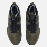 Мужские зимние кроссовки Nike Air Max 90 Mid Winter Dark Loden/Black/Dark Grey фото- 4