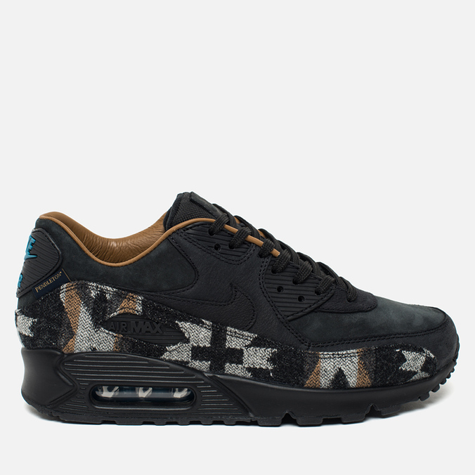 Мужские кроссовки Nike Air Max 90 Pendleton QS Black/Brown