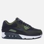 Мужские кроссовки Nike Air Max 90 Premium Black/Olive фото- 0