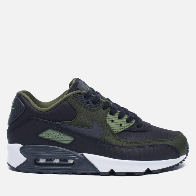 Мужские кроссовки Nike Air Max 90 Premium Black/Olive