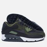 Мужские кроссовки Nike Air Max 90 Premium Black/Olive фото- 2
