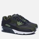 Мужские кроссовки Nike Air Max 90 Premium Black/Olive фото- 1