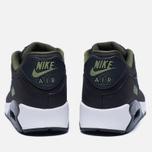 Мужские кроссовки Nike Air Max 90 Premium Black/Olive фото- 3