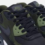 Мужские кроссовки Nike Air Max 90 Premium Black/Olive фото- 5