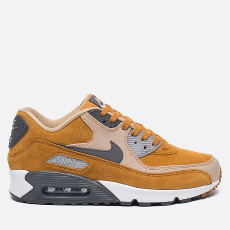 Мужские кроссовки Nike Air Max 90 Premium Bronze/Baroque Brown/Bamboo