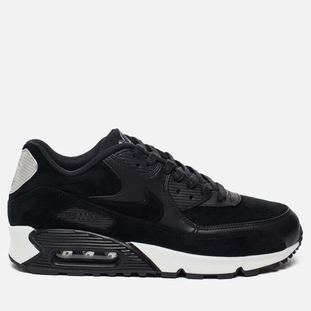 Мужские кроссовки Nike Air Max 90 Premium Rebel Skulls Black/Chrome/Off White