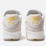 Мужские кроссовки Nike Air Max 90 Premium White/Lemon Frost/Light Bone фото- 3