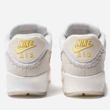 Мужские кроссовки Nike Air Max 90 Premium White/Lemon Frost/Light Bone фото- 2
