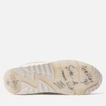 Мужские кроссовки Nike Air Max 90 Premium White/Lemon Frost/Light Bone фото- 4