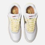 Мужские кроссовки Nike Air Max 90 Premium White/Lemon Frost/Light Bone фото- 5