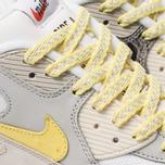 Мужские кроссовки Nike Air Max 90 Premium White/Lemon Frost/Light Bone фото- 6