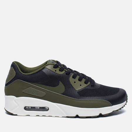 Мужские кроссовки Nike Air Max 90 Ultra 2.0 Essential Black/Legion Green/Sail