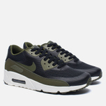 Мужские кроссовки Nike Air Max 90 Ultra 2.0 Essential Black/Legion Green/Sail фото- 2