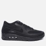 Мужские кроссовки Nike Air Max 90 Ultra 2.0 Essential Triple Black/Dark Grey фото- 0