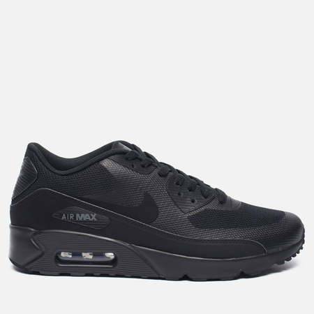 Мужские кроссовки Nike Air Max 90 Ultra 2.0 Essential Triple Black/Dark Grey