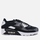 Мужские кроссовки Nike Air Max 90 Ultra 2.0 Flyknit Black/Black/White фото- 0