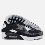 Мужские кроссовки Nike Air Max 90 Ultra 2.0 Flyknit Black/Black/White фото- 1