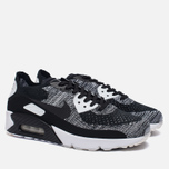 Мужские кроссовки Nike Air Max 90 Ultra 2.0 Flyknit Black/Black/White фото- 2