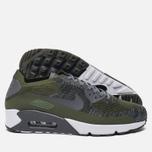 Мужские кроссовки Nike Air Max 90 Ultra 2.0 Flyknit Rough Green/Dark Grey/White/Black фото- 1