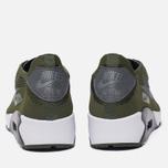 Мужские кроссовки Nike Air Max 90 Ultra 2.0 Flyknit Rough Green/Dark Grey/White/Black фото- 5