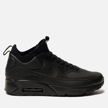Мужские кроссовки Nike Air Max 90 Ultra Mid Winter Black/Black/Anthracite
