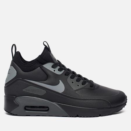 Мужские кроссовки Nike Air Max 90 Ultra Mid Winter Black/Cool Grey/Anthracite