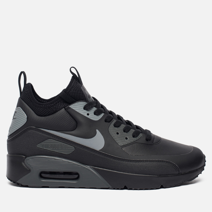 Мужские кроссовки Nike Air Max 90 Ultra Mid Winter Black