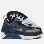 Мужские кроссовки Nike Air Max 90 Ultra Mid Winter Obsidian/Black/Gym Blue/Cool Grey фото- 2