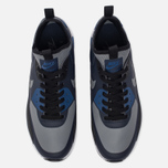 Мужские кроссовки Nike Air Max 90 Ultra Mid Winter Obsidian/Black/Gym Blue/Cool Grey фото- 4