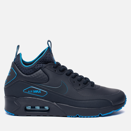 Мужские кроссовки Nike Air Max 90 Ultra Mid Winter SE Obsidian/Obsidian/Thunder Blue