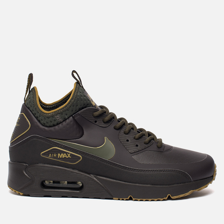 Мужские кроссовки Nike Air Max 90 Ultra Mid Winter SE Velvet Brown/Cargo Khaki