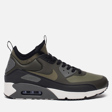 Мужские кроссовки Nike Air Max 90 Ultra Mid Winter Sequoia/Medium Olive/Black/Dark Grey
