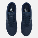 Мужские кроссовки Nike Air Max 90 Ultra Moire Midnight Navy фото- 4