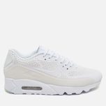 Мужские кроссовки Nike Air Max 90 Ultra Moire Triple White фото- 0