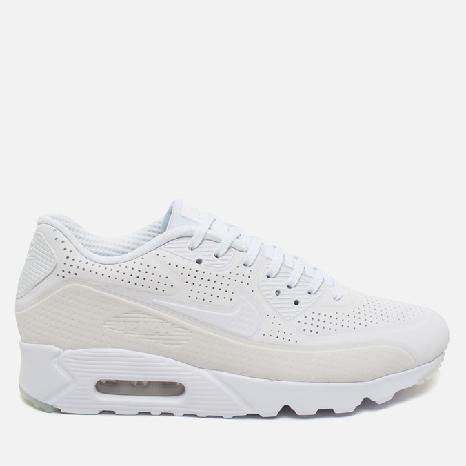 Мужские кроссовки Nike Air Max 90 Ultra Moire Triple White