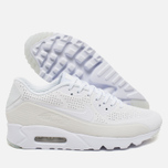 Мужские кроссовки Nike Air Max 90 Ultra Moire Triple White фото- 2