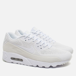 Мужские кроссовки Nike Air Max 90 Ultra Moire Triple White фото- 1