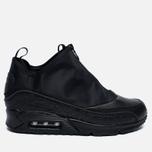Мужские зимние кроссовки Nike Air Max 90 Utility Triple Black фото- 0