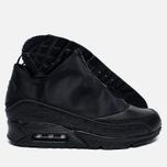 Мужские зимние кроссовки Nike Air Max 90 Utility Triple Black фото- 1