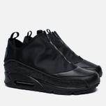 Мужские зимние кроссовки Nike Air Max 90 Utility Triple Black фото- 2
