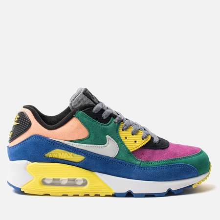 Мужские кроссовки Nike Air Max 90 Viotech 2.0 QS Lucid Green/Barely Grey/Game Royal