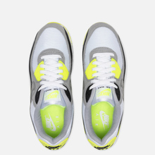 Мужские кроссовки Nike Air Max 90 White/Particle Grey/Volt/Black фото- 1