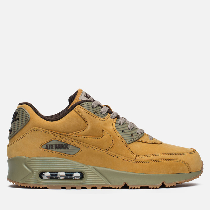 Мужские кроссовки Nike Air Max 90 Winter Premium Wheat Pack Bronze/Baroque Brown