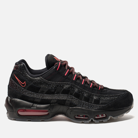 Мужские кроссовки Nike Air Max 95 Black/Infrared