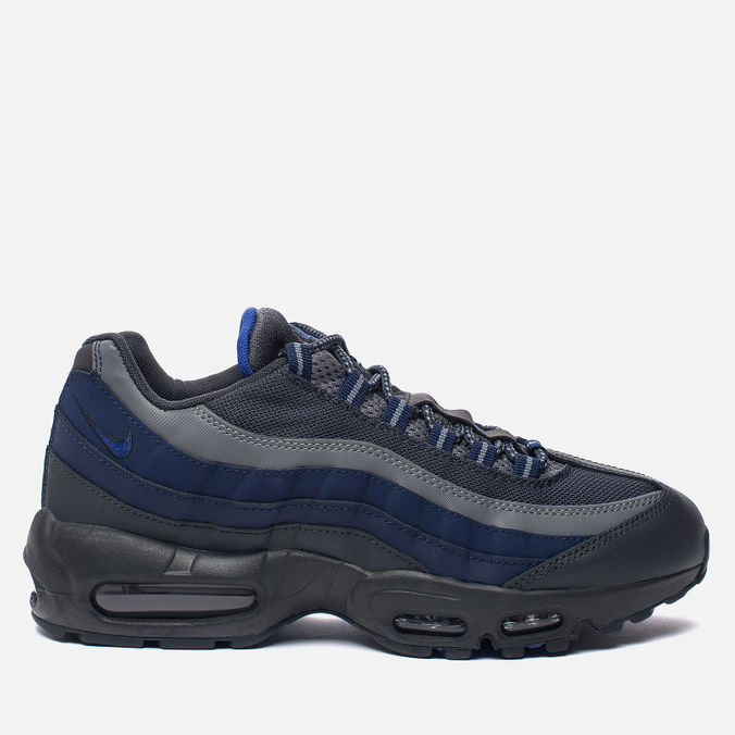 Мужские кроссовки Nike Air Max 95 Essential Anthracite/Binary Blue/Cool Grey/Paramount Blue