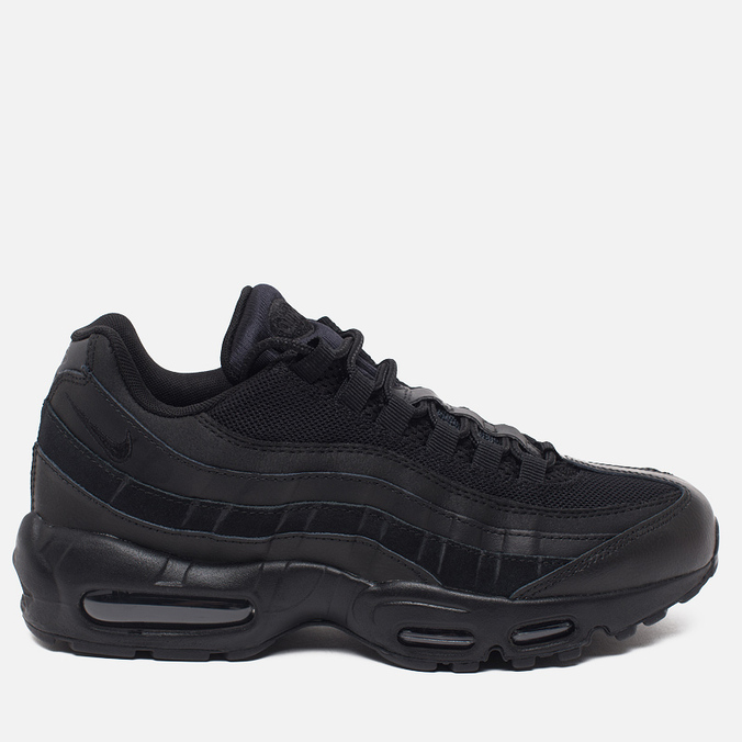 Мужские кроссовки Nike Air Max 95 Essential Black/Black/Black