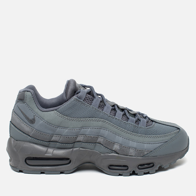 Мужские кроссовки Nike Air Max 95 Essential Cool Grey/Cool Grey